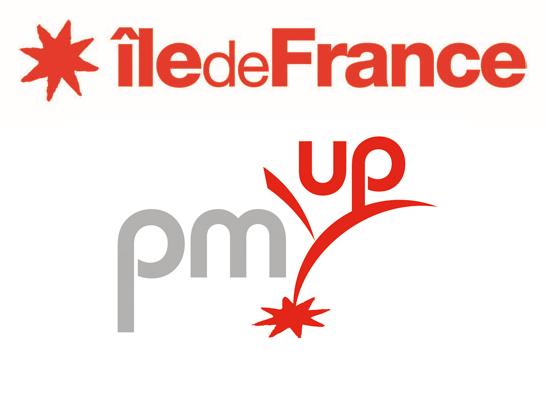Logo PM'UP, dispositif d'aide aux PME innovantes