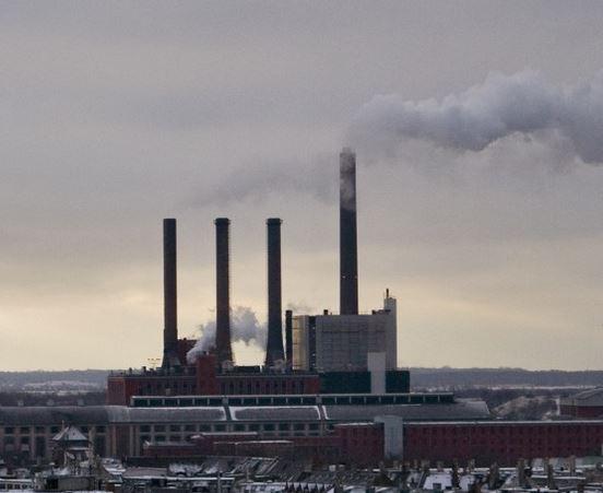 centrale electrique fonctionnant au charbon