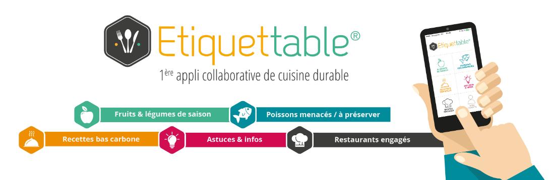 image pour Etiquettable, une application pour s'alimenter sans polluer