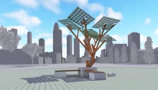 etree, l'arbre solaire