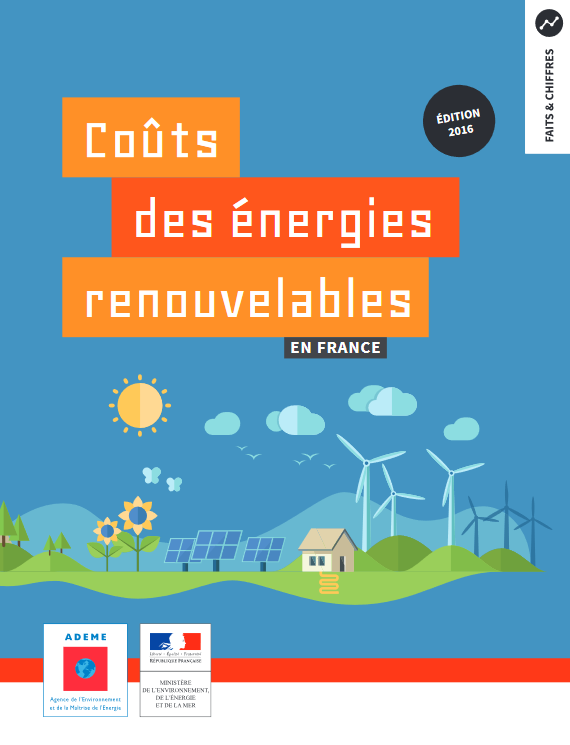 Etude Ademe sur le coût des énergies renouvelables