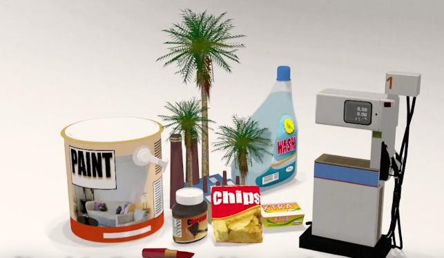 produits avec huile de palme
