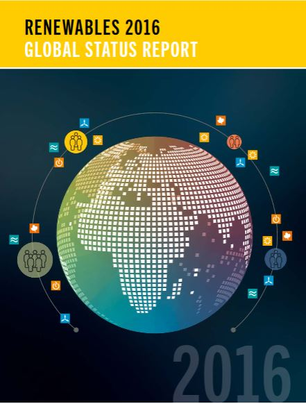 global status report renewables 2016