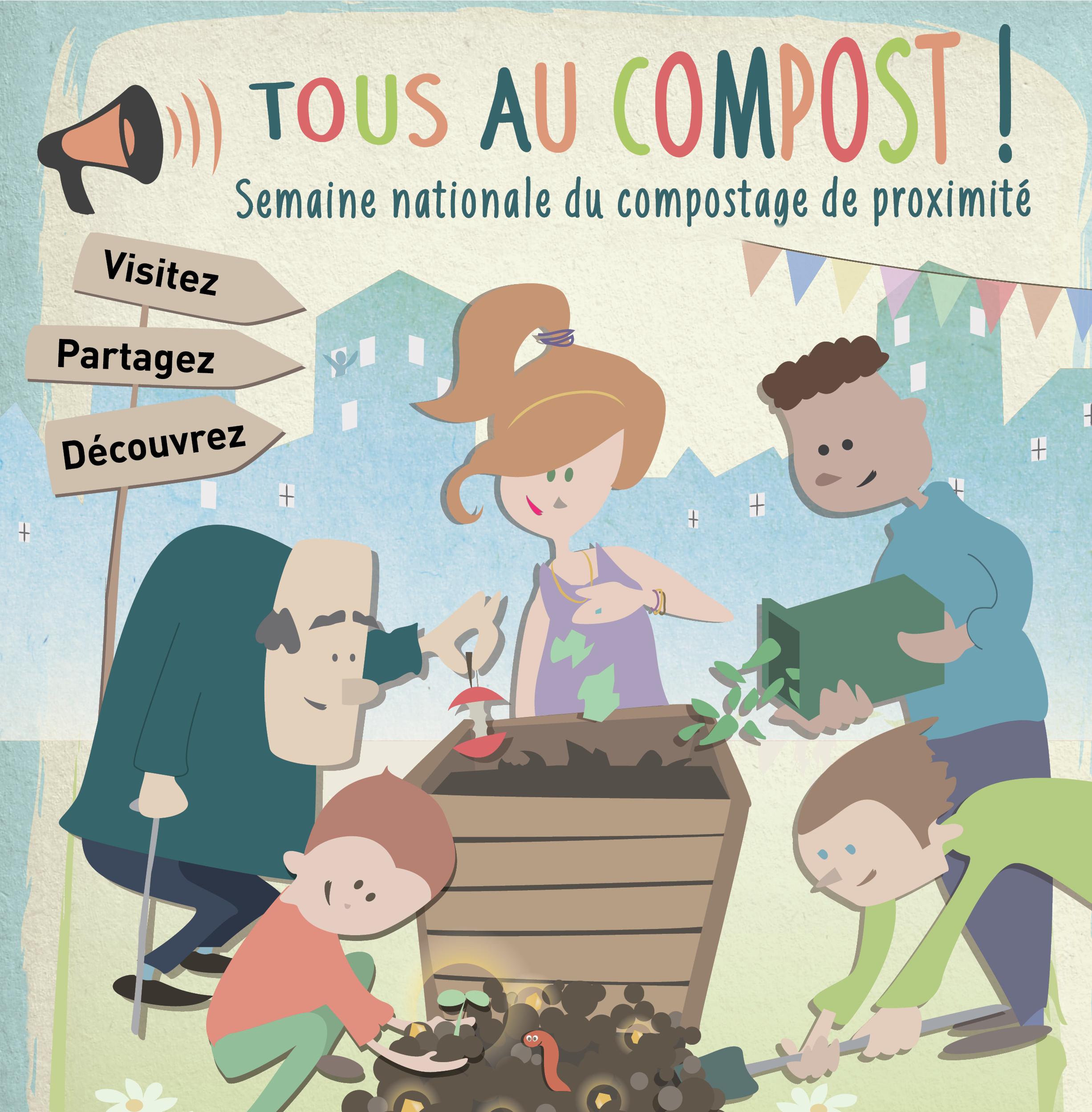 tous au compost, la semaine nationale du compostage de proximité