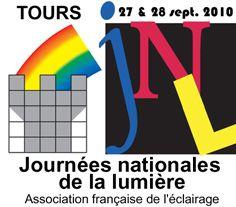 Affiche journées nationales de la lumière à Tours