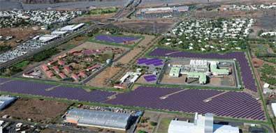 Centrale photovoltaique - projet Bardzour
