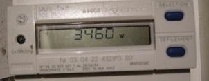 Compteur EDF 3460W