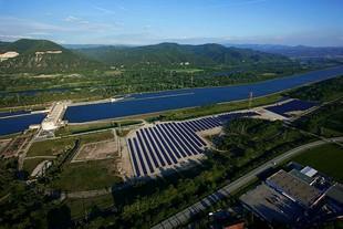 centrale au sol de plus de 250 kWc