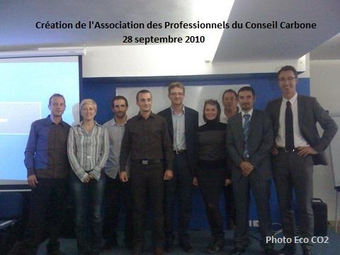 Association des Professionnels du Conseil Carbone : le premier conseil d'administration