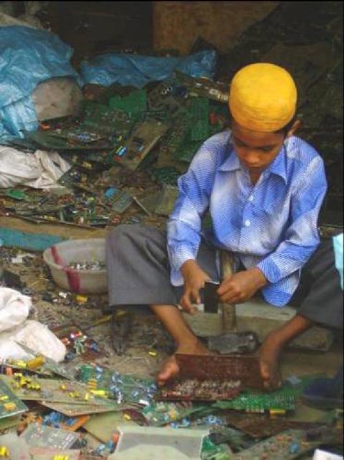 traitement des dechets en Inde