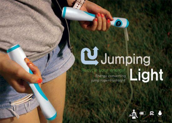 la corde a sauter jumping-light