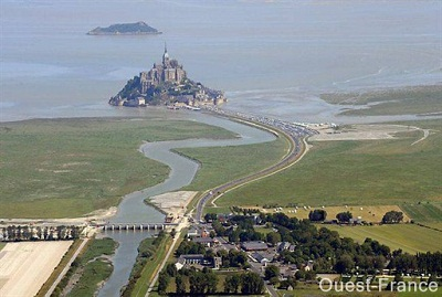 Mont Saint Michel (source Ouest France)