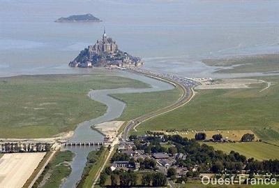 Mont Saint Michel (source Ouest France)