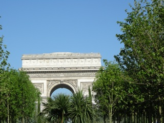 arc triomphe nature capitale