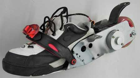 Prototype chaussure Peter Treadway