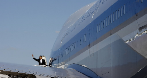 Obama Air Force One