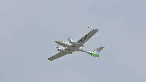avion volant au biocarburant