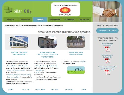Offres bilan carbone et bilanCO2