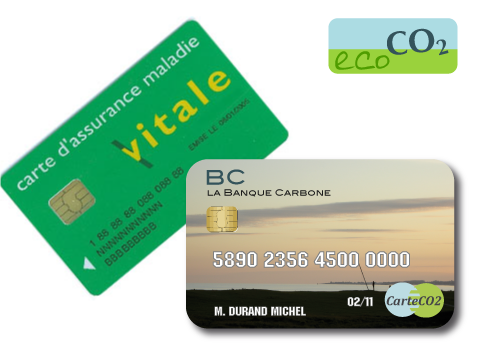 Securite sociale : carte vitale ou carte CO2 ?