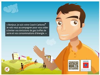 Le coach carbone de l'ademe vous accueille
