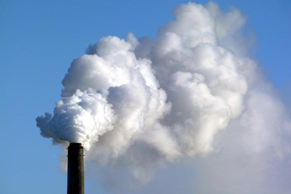 emissions de CO2 et de soufre