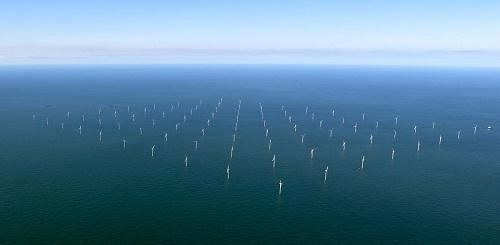 eoliennes en mer au danemark