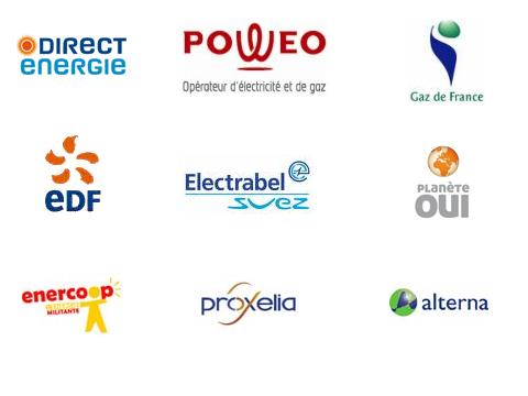 Fournisseurs alternatifs d'énergie : électricité, gaz