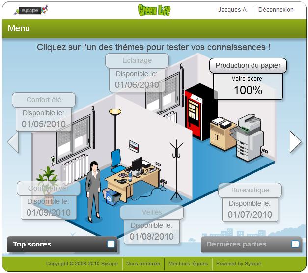 Greenlife office par la société Sysope