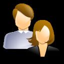 homme et femme CO2