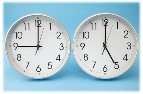 horloge - changement d'heure