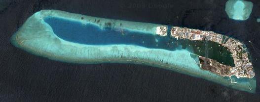 Ile Thilafushi - image GoogleMaps