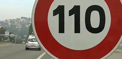 limitation 100 km/h