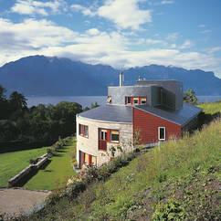 Maison en suisse basse consommation d'énergie - label Minergie