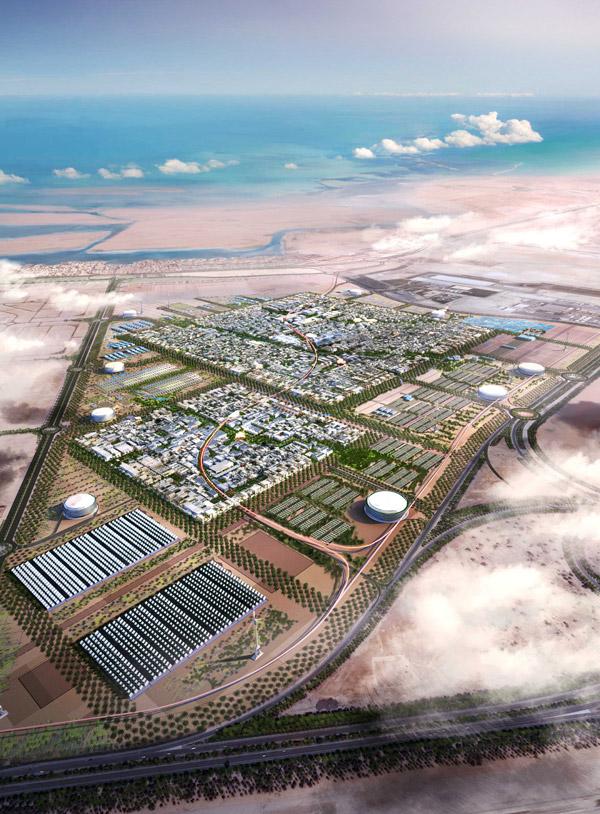 centrale solaire de Masdar