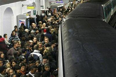 RATP : Quai bondé pour le métro parisien