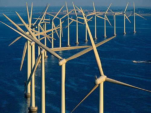 Parc eolien offshore