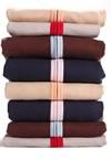 Pile de sweats o-Coton
