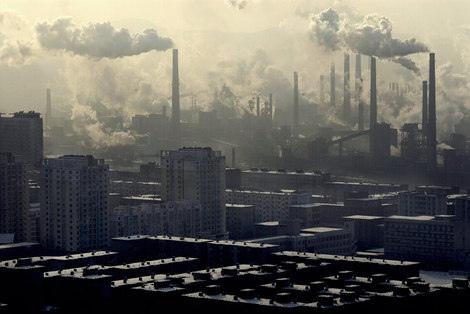 Pollution industrielle en Cine