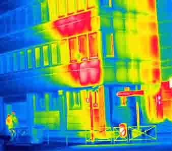 precarite energetique image infra-rouge