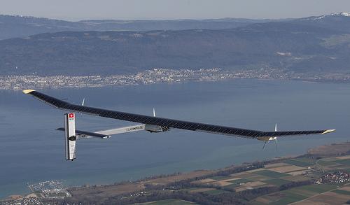 Avion solar-impulse