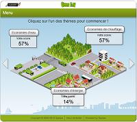 Jeu Issy les Moulineaux pour faire des economies d'energie