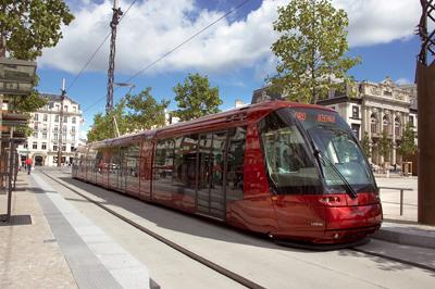 Tramway à Clermont Ferrand