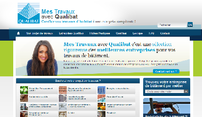 le site web travaux-qualibat
