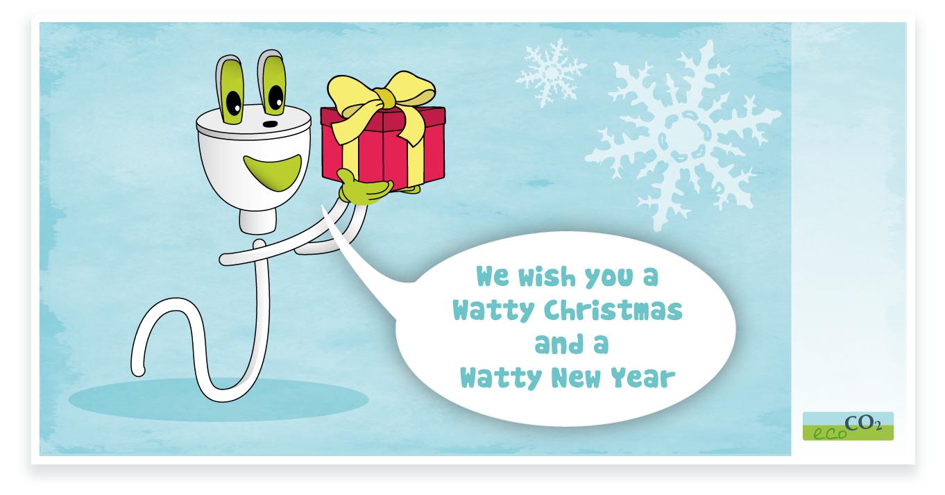 We wish you a watty christmas