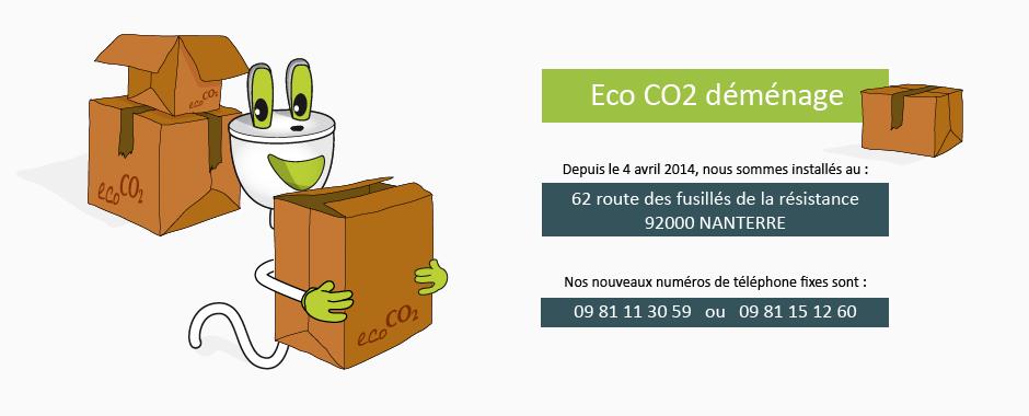 Ec CO2 déménage à Nanterre