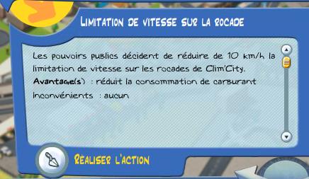 climcity action rocade