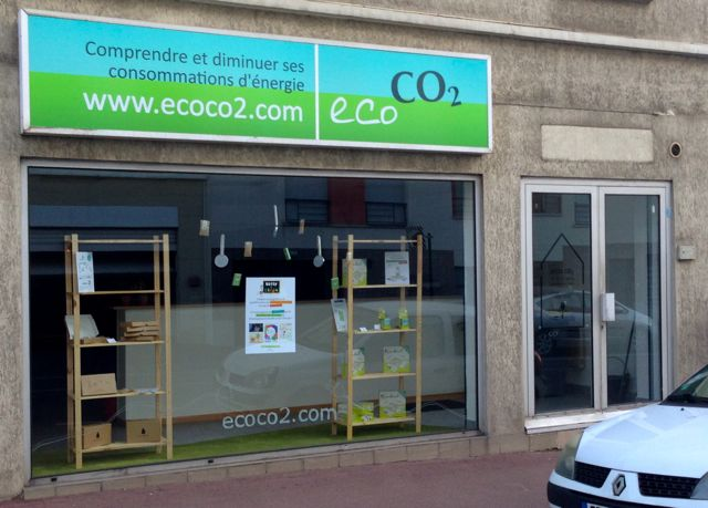 La boutique Eco CO2 à Nanterre