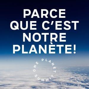 Sommet pour la Planète ; One Planet Summit