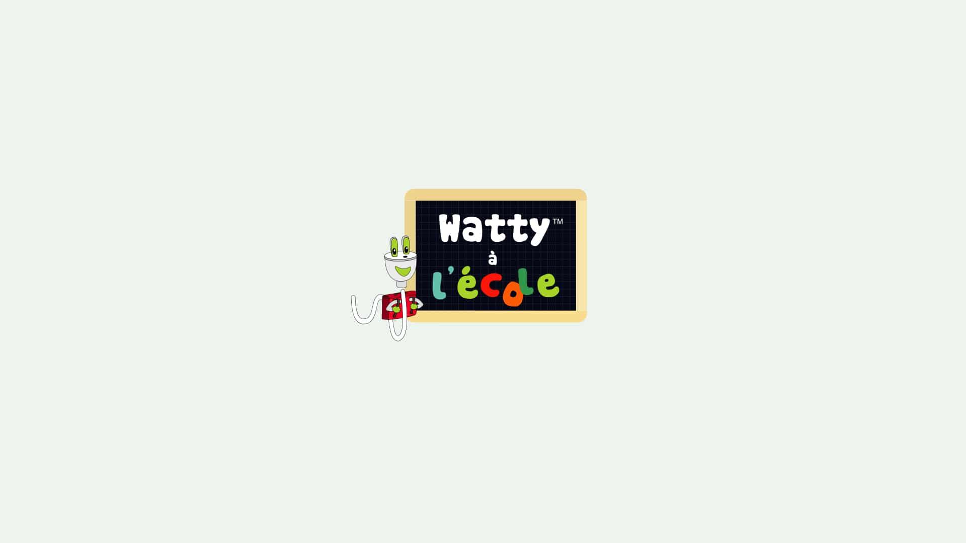 watty à l'école logo