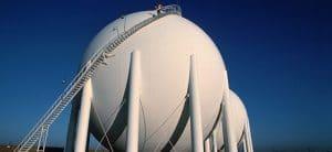 Stockage de gaz naturel (réservoir)